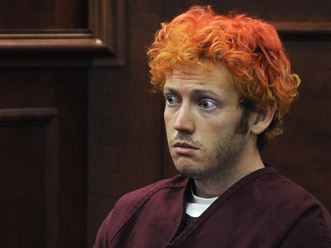 James Holmes received 12 consecutive life sentences after gunning down moviegoers at a cinema in Aurora, Colorado.