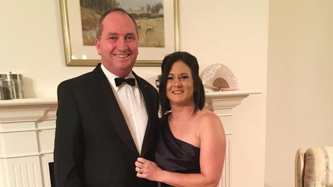 Barnaby Joyce separates from wife Natalie