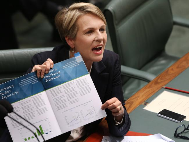 Tanya Plibersek has been a strong performer since being promoted to Deputy Opposition Leader. Picture: Gary Ramage
