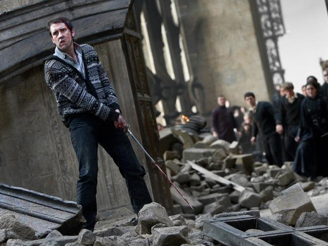 Matthew Lewis in a scene from film Harry Potter and the Deathly Hallows — Part 2.