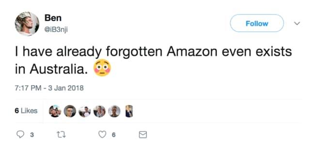 Amazon's execs would be cringing at tweets like this.