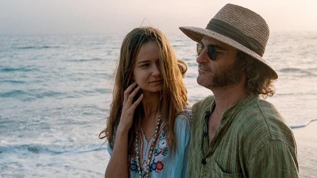Waterston won rave reviews as a disappearing girlfriend alongside Joaquin Phoenix in last year's Inherent Vice. Picture: Roadshow