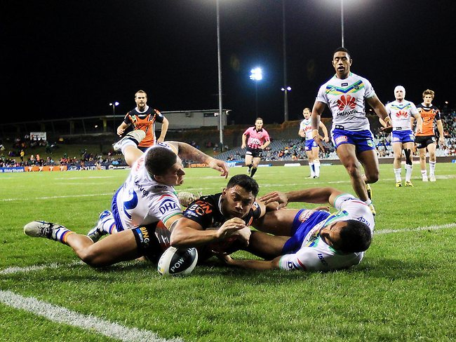 Wests Tigers v Canberra Raiders