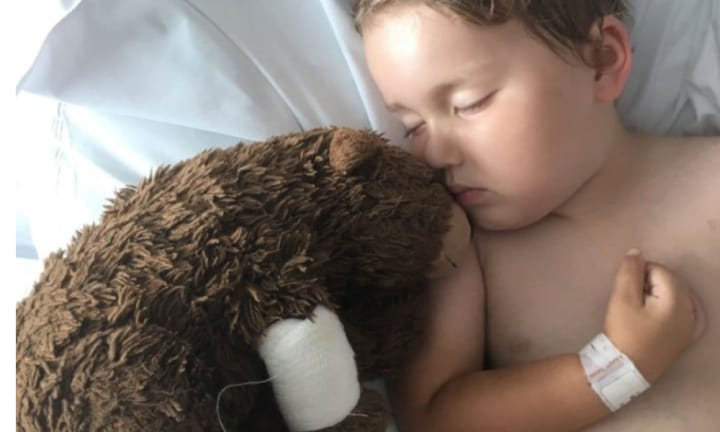 Boy, 4, passes away after being reunited with his missing teddy bear