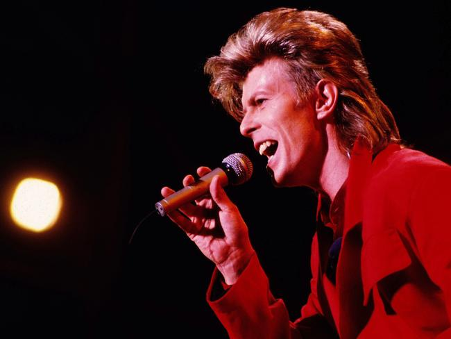 David Bowie playing the Piper Club in Rome in 1987. Picture: Bruno Marzi/Splash News/Corbis