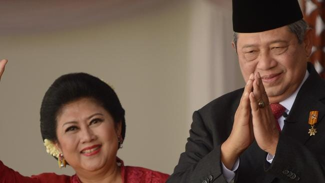Reports emerged last November that Australia had spied on Indonesian President Susilo Bambang Yudhoyono and his wife, Ani Yudhoyono Picture: AFP / Adek Berry