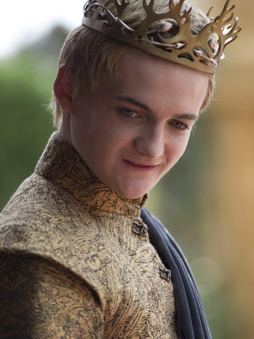 jack gleeson shows adelaide he s nothing like spoiled king joffery jack gleeson in game of thrones