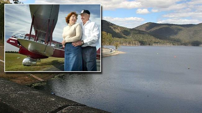Plane search Borumba dam