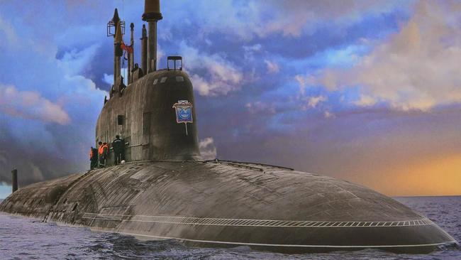 Catching up ... After taking 20 years to build, the Russian submarine Yassen represents a fresh start in submarine warfare.