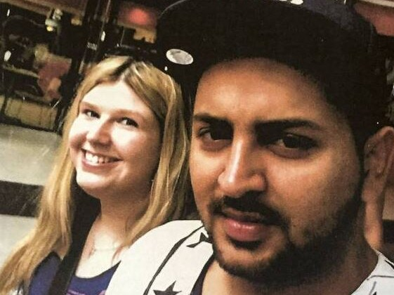 Jessica went with her boyfriend Gurdeep Singh to the Punjab region of India. Picture: NZ Herald