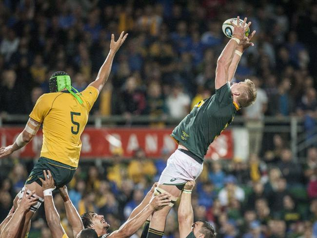 The Wallabies' set-piece was shaky at best.