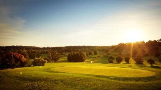 Lawson Lodge, Australia. You can take your time working through the nine-holes of this golf course it's all yours when you rent it. Picture: HomeAway.com.au