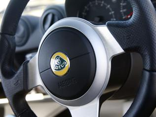 Steering Wheel of the Lotus Elise S