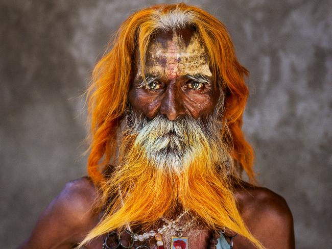 Steve McCurry: India exhibtion - Rabari tribal elder, Rajasthan Steve McCurry, 2010. Picture: Steve McCurry