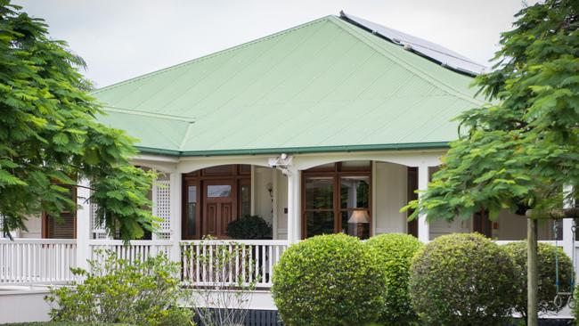 The Wilston Queenslander is a true classic, painstakingly renovated. Supplied by Foxtel