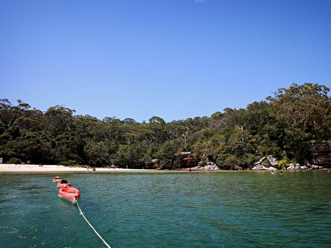 Manly's a must-visit spot for keen kayakers. Picture: Adam Yip