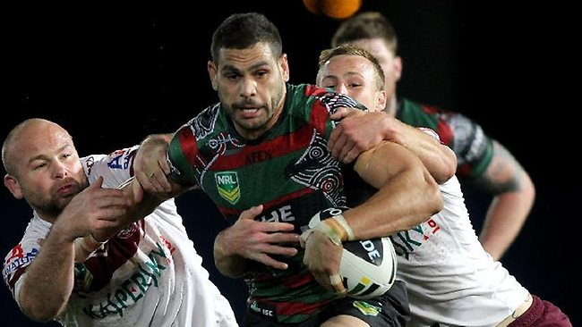Greg Inglis is leading the way for South Sydney this season.
