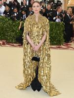 Evan Rachel Wood attends the Heavenly Bodies: Fashion and The Catholic Imagination Costume Institute Gala at The Metropolitan Museum of Art on May 7, 2018 in New York City. Picture: Getty Images