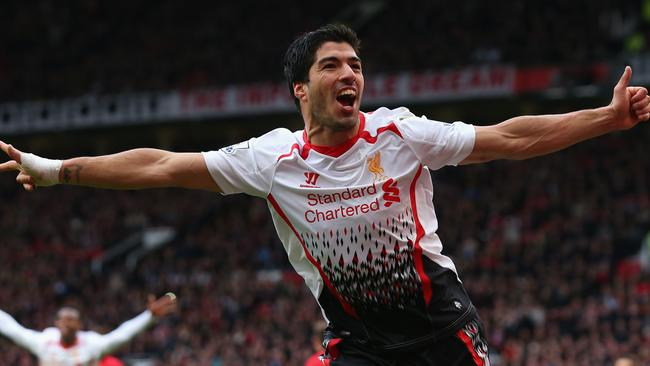 Luis Suarez is a wanted man.
