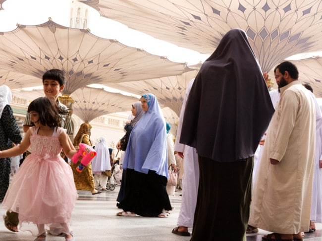 The ultraconservative Arab nation has strict cultural rules regarding clothing.