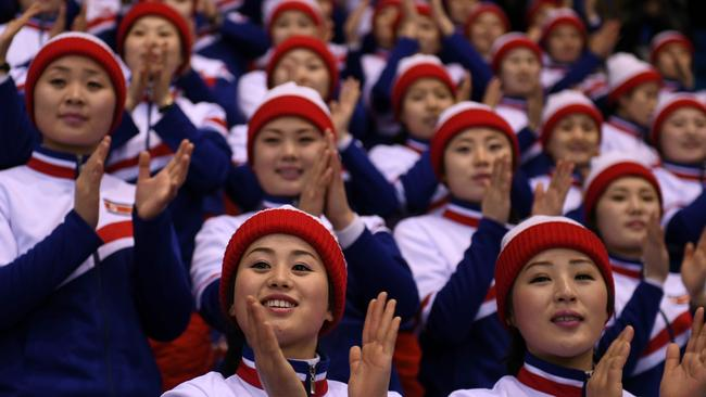 North Korean cheerleaders are famed for their beauty, but according to one defector, there's a dark side.