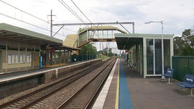 Macquarie Fields railway station is reportedly haunted.