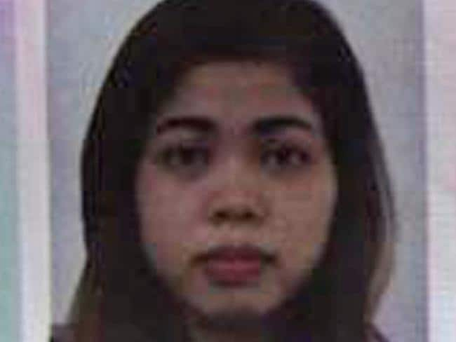 This photo from Indonesian news portal Kumparan shows the passport photo of Siti Aishah, 25, an Indonesian woman suspected to be involved in the killing of the North Korean leader's half brother at Kuala Lumpur Airport on Monday. Picture: Kumparan via AP
