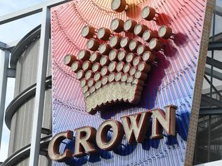The exterior of the Crown Casino located on Southbank in Melbourne, on Sunday, July 23, 2017. Two men have been charged over a stabbing attack near Melbourne's Crown Casino on Saturday night. (AAP Image/James Ross) NO ARCHIVING