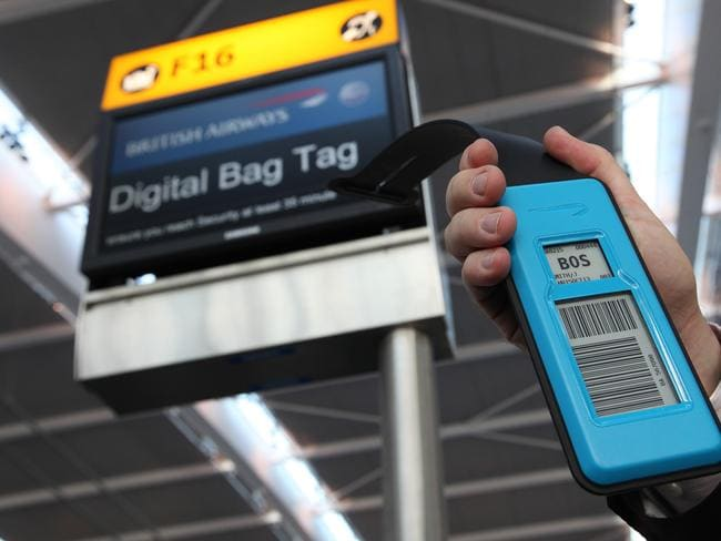 Digital bag tags will allow you to track your luggage on its journey.