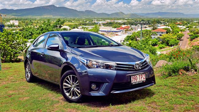 Strong seller ... the Toyota Corolla. Picture: Wesley Monts