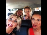 "Behind The Scenes 2014 MTV VMAs... Actress Julianne Hough posts, ""Date night with the ladies! #love #bffs #vmas #stoopshot #redcarpetface"" Picture: Instagram"