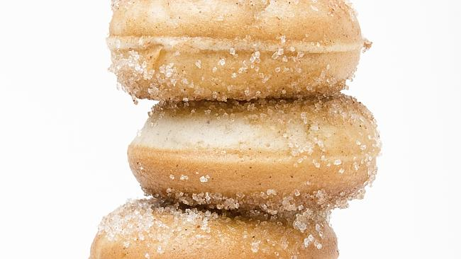 Sugared doughnuts shouldn't be a staple food in our diets.