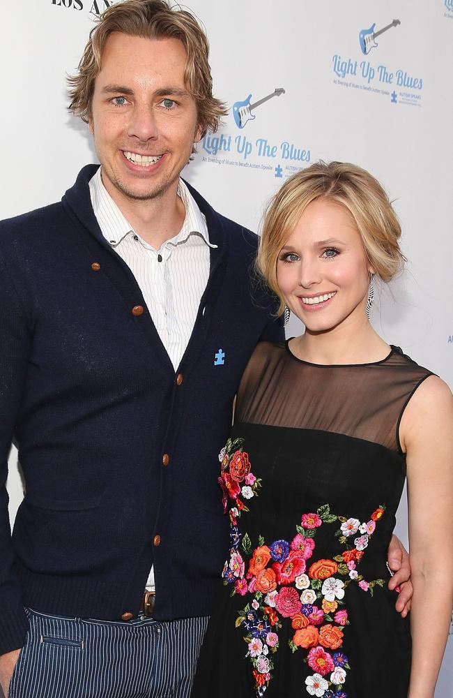 Dax Shepard and Kristen Bell have been together for 10 years. Picture: Imeh Akpanudosen