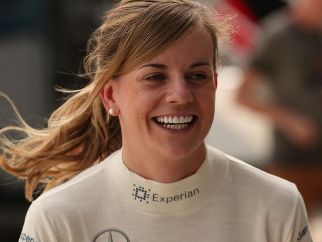Scottish development driver Susie Wolff.