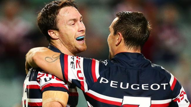 James Maloney and Mitchell Pearce have hit form after being dropped from the NSW Origin side.