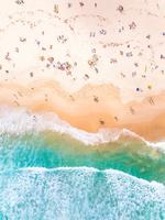 Bondi Beach - entry in Australia from Above competition. Picture: Bondilens