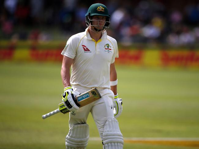 Steve Smith is yet to really fire. Picture: AFP/Marco Longari