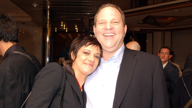 Asia Argento and Harvey Weinstein during 2004 Cannes Film Festival. Photo: Denise Truscello/WireImage