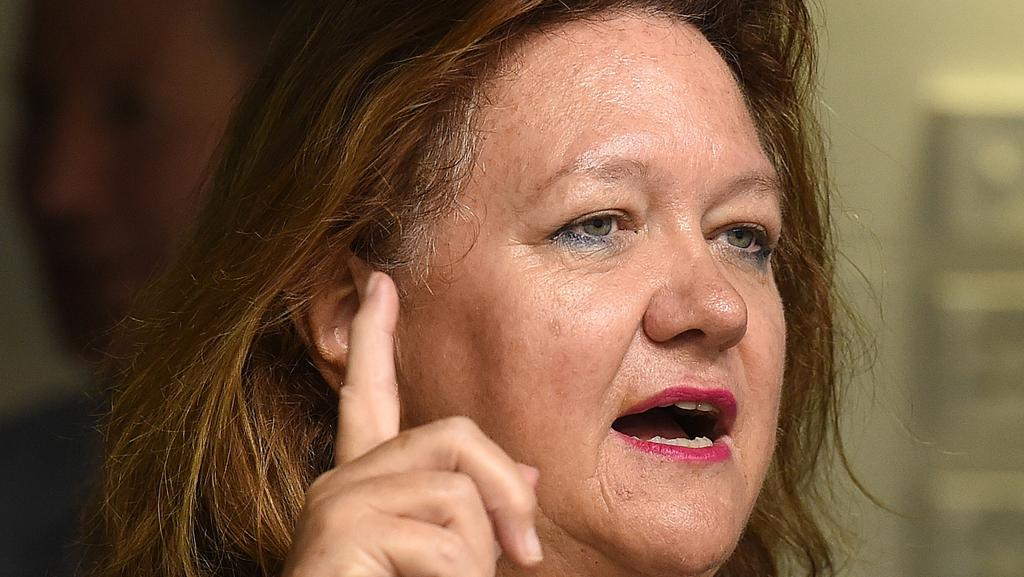 Gina Rinehart's Hancock will control the corporate buying vehicle.