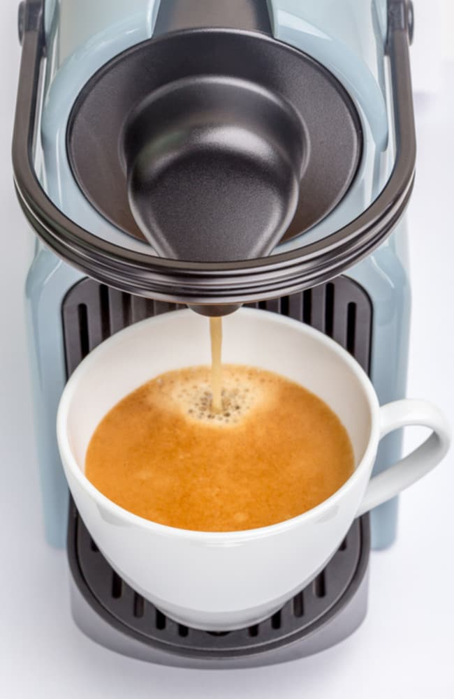 How dirty is your hotel room coffee maker nt news for Small apartment coffee maker