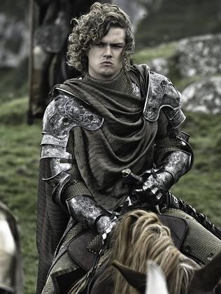 Finn Jones plays Ser Loras Tyrell.