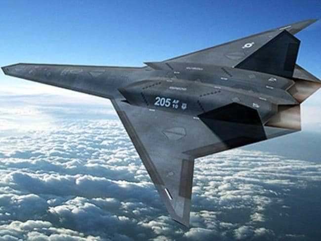 Ultra-advanced ... A concept image of a high-flying robotic stealth aircraft. Source: US Department of Defence