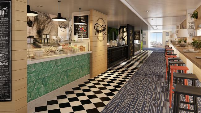 First Glimpse Inside Luxurious P Amp O Cruise Ships Heading To
