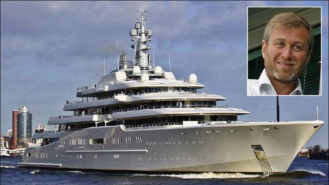 Superyacht abramovich  Dubai ruler Maktoum to reclaim mega yacht crown from Roman Abramovich