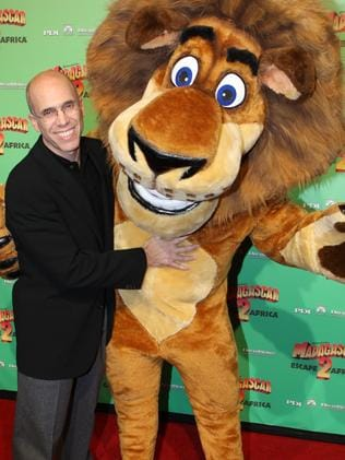 Jeffrey Katzenberg attends the premiere of Madagascar 2. Picture: Supplied
