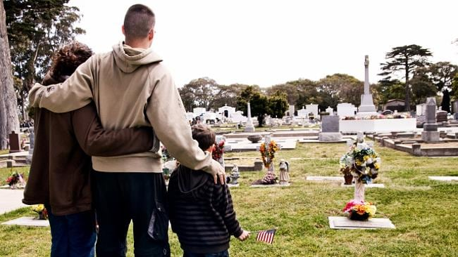 Grief can result in greater appreciation of loved ones. Picture: Thinkstock.