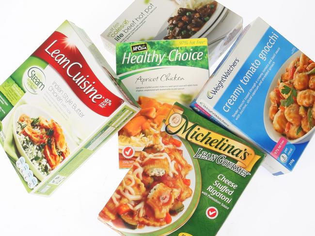 Frozen meals often contain lots of sugar in the sauces used to add extra flavour.