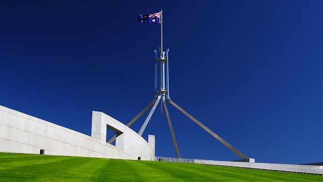 Parliament House in Canberra. Picture: Thinkstock