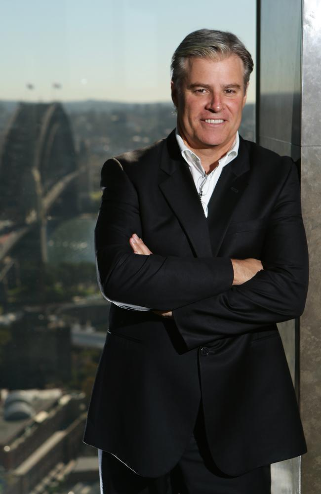 "IRB boss Brett Gosper is in Sydney to talk about the ""recognise and remove"" concussion campaign."