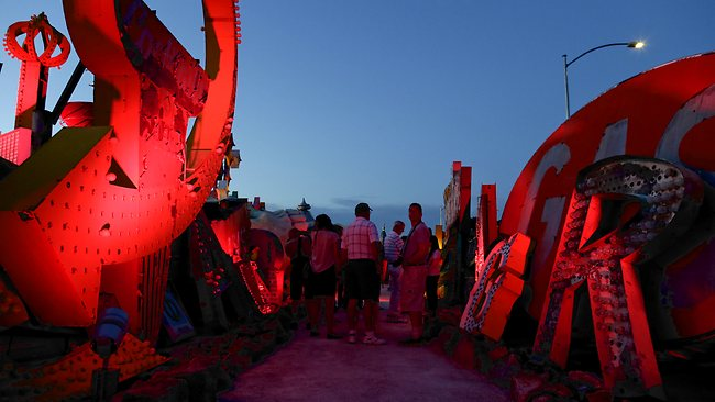 The Neon Museum. Picture: AP
